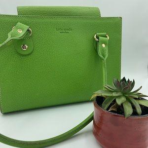 KATE SPADE bright green shoulder bag